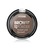 "Пудра для бровей тон 04 Brow powder ""BROW POWDER"" LUXVISAGE"
