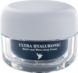 Крем для лица ЛАСТОЧКИНО ГНЕЗДО Ultra Hyaluronic acid Bird's nest Water- drop Cream ESTHETIC HOUSE